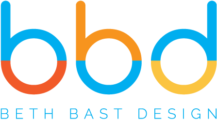 BBD | Beth Bast Design Logo